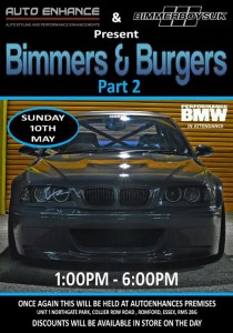 Bimmers & Burgers - May '15