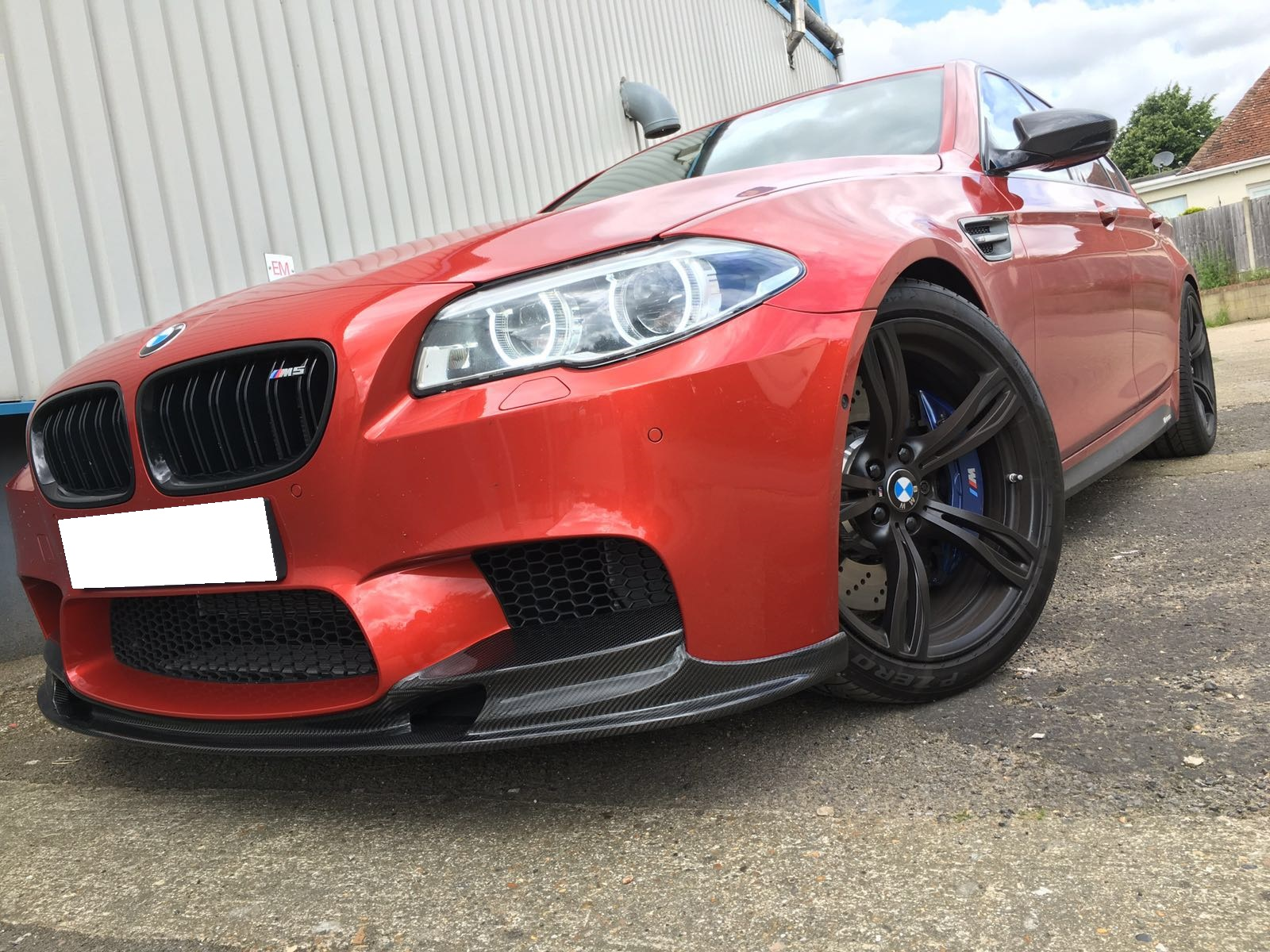 F10 M5 - Carbon styling
