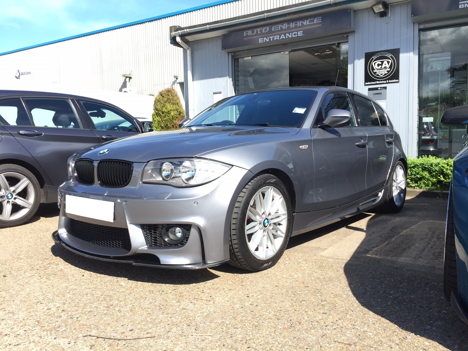 E87 - Exterior styling