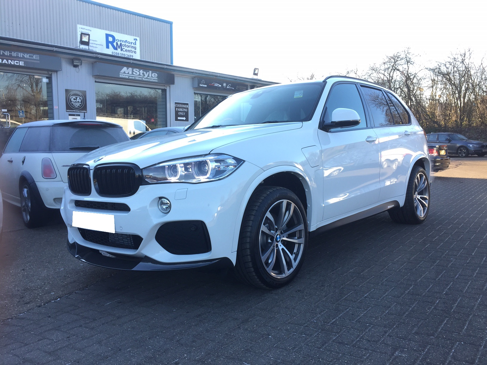 X5 Hybrid - exterior Styling