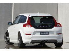 HEICO SPORTIV rear skirt incl. exhaust system C30 2.0/ D2 (from facelift on, for R-Design, 3 parts)