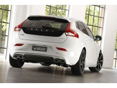 HEICO SPORTIV stainless steel inlay for rear skirt in diffuser look V40 (525)