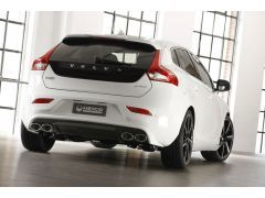HEICO SPORTIV rear skirt in diffuser look incl. exhaust system V40 (525) T3, T4