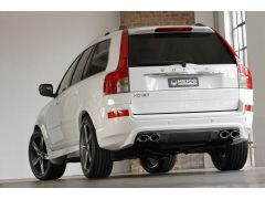HEICO SPORTIV rear skirt incl. quad outlet exhaust system XC90 D3, D4, D5, with tow hook