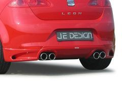 REAR DIFFUSER FOR QUAD EXHAUST