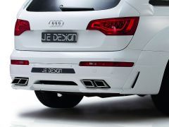 REAR DIFFUSER FOR CARS WITH PDC