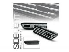 MStyle wing vent kit, chrome