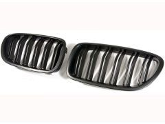 F10/11 Matte black grilles with double grille spokes