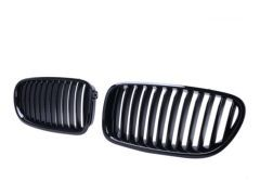 F10, F11 Gloss Black Front Grilles