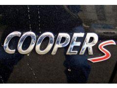 Cooper S badge