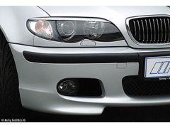 E46 CSR facelift headlight eyebrows