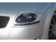 Front headlight cover