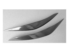 F10/F11 carbon headlamp eyebrows