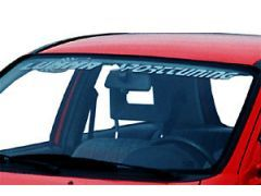 Front Windscreen Sticker