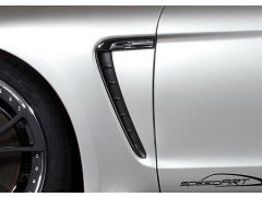 PS9 Air outlet front fender carbon - Carbon Black