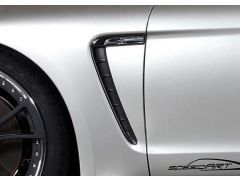 PS9 Air outlet front fender carbon - Carbon Special Colour
