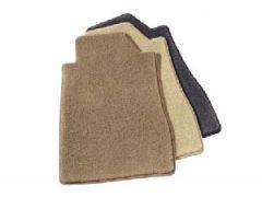 Velour floor mats, grey