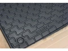 Rubber floor mats, rear