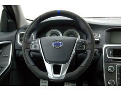 HEICO SPORTIV sport steering wheel (Anthrazit/HEICO blue)