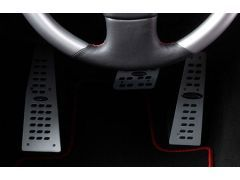 Aluminium pedal set for TIPTRONIC