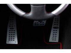 Aluminium pedal set for PDK