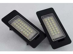 Superbright led number plate lamp units pair