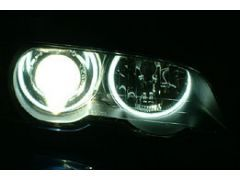 Angel eye conversion, cars without xenon - Not for facelift 2 dr model