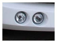 LUMMA FOG-LIGHTS LED-VERSION CHROME DESIGN