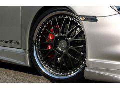Cross Racing wheel front axle