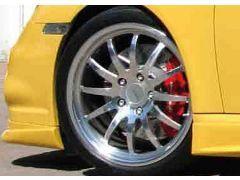 Light Spoke wheel front axle