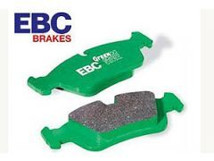 EBC Greenstuff upgrade brake pads rear, For all 330i and 330d