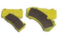Sport brake pads Front- / Rear axle. Carrera 2 / 4