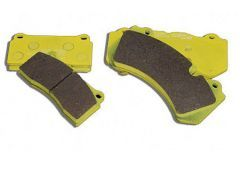 Race brake pads Front- / Rear axle with PCCB