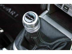 Aluminium shift knob inclusive short shifter 40%