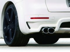 TWIN OVAL EXHAUST TIPS