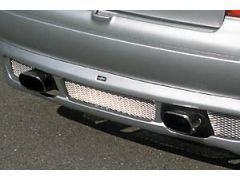 Twin Exit Exhaust Rear section