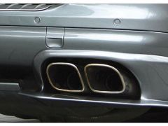 Sport twin tailpipes squared - Cayenne V6