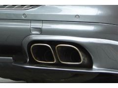 Sport twin tailpipes squared - Cayenne s