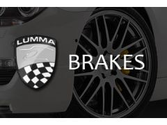 STANDARD BRAKE SYSTEM, BRAKE CALIPERS LAQUER, WITH LUMMA LOGO
