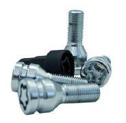 High security locking wheel bolt set