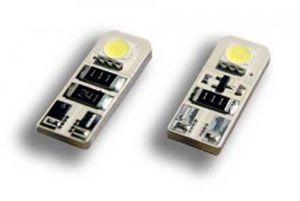 LED front sidelight bulb replacements