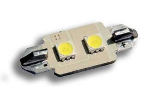 LED rear number plate bulb replacements