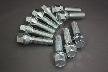Longer wheel bolts set, 50mm length